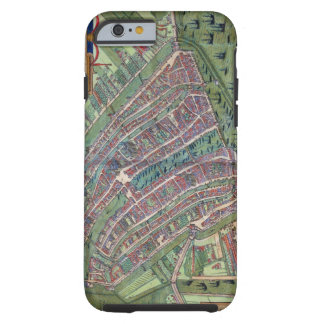 Map of Amsterdam, from 'Civitates Orbis Terrarum' Tough iPhone 6 Case