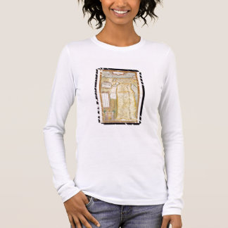 Map of Ancient Egypt, 1584 Long Sleeve T-Shirt