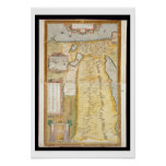 Map of Ancient Egypt, 1584 Print