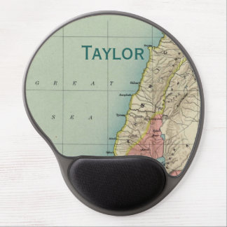 Map of Ancient Israel Gel Mouse Mat