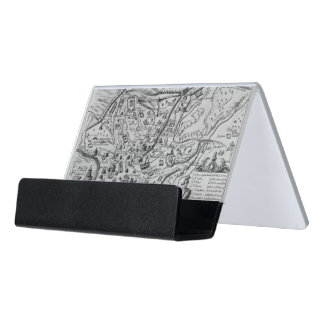 Map of Ancient Rome Desk Business Card Holder