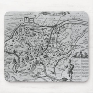 Map of Ancient Rome Mouse Mat