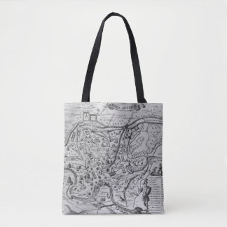 Map of Ancient Rome Tote Bag