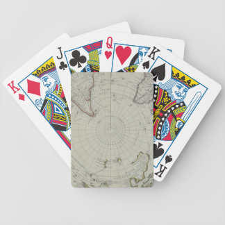 Map of Antarctica 2 Bicycle Playing Cards