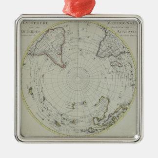 Map of Antarctica 2 Christmas Ornament