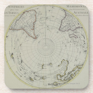 Map of Antarctica 2 Coaster