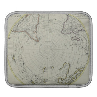 Map of Antarctica 2 iPad Sleeve