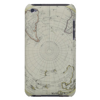 Map of Antarctica 2 iPod Case-Mate Cases