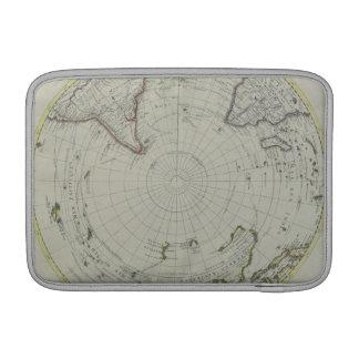 Map of Antarctica 2 MacBook Sleeve