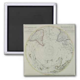 Map of Antarctica 2 Magnet