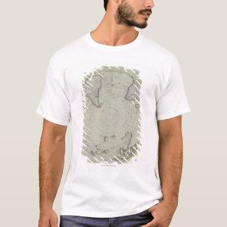 Map of Antarctica 2 T-Shirt