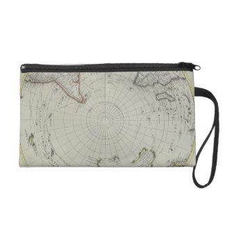 Map of Antarctica 2 Wristlet