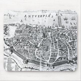 Map of Antwerp Mouse Mat