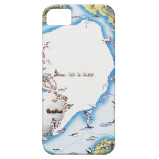 Map of Arctic Barely There iPhone 5 Case