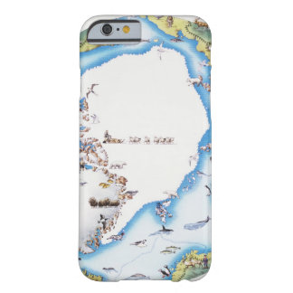Map of Arctic Barely There iPhone 6 Case