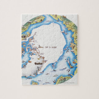 Map of Arctic Jigsaw Puzzle