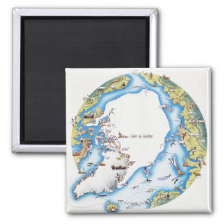 Map of Arctic Magnet