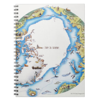 Map of Arctic Notebook