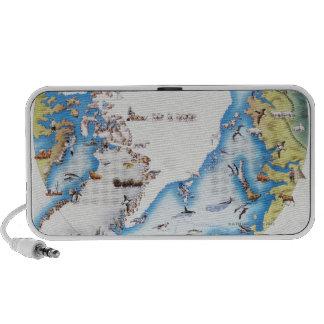 Map of Arctic Speaker