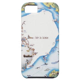 Map of Arctic Tough iPhone 5 Case