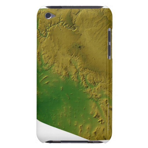 Map of Arizona Barely There iPod Cover