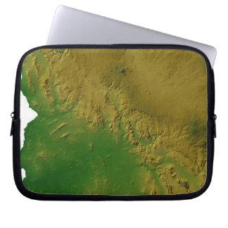 Map of Arizona Laptop Sleeve