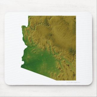 Map of Arizona Mouse Pad