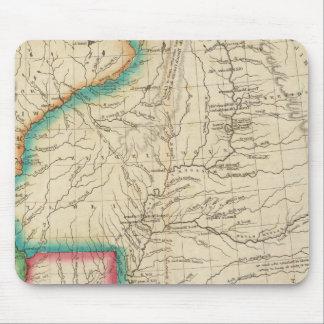 Map Of Arkansas Territory Mouse Mat