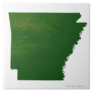 Map of Arkansas Tile