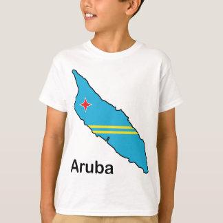 Map Of Aruba T-Shirt