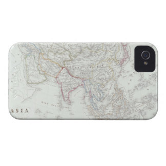 Map of Asia 2 iPhone 4 Cover