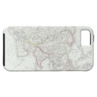 Map of Asia 2 iPhone 5 Covers