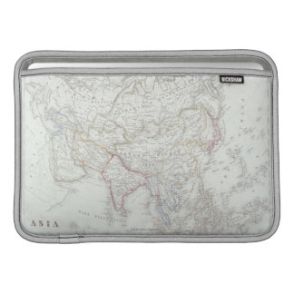 Map of Asia 2 MacBook Sleeve