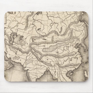 Map of Asia 2 Mouse Mat
