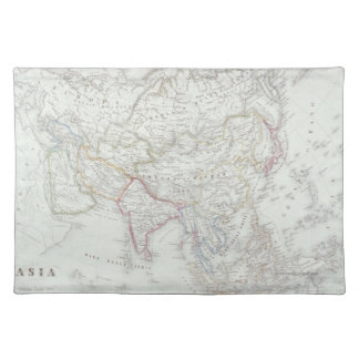 Map of Asia 2 Placemat
