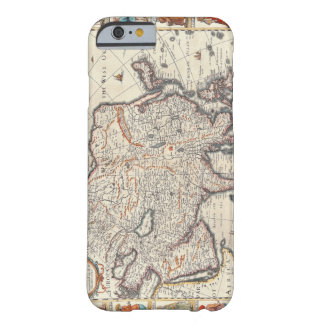 Map of Asia 3 Barely There iPhone 6 Case