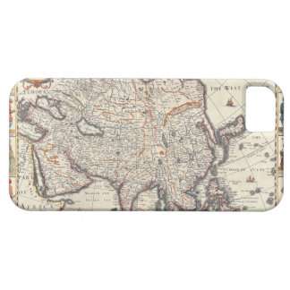Map of Asia 3 Case For The iPhone 5