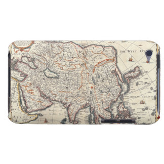 Map of Asia 3 iPod Touch Case