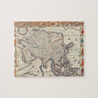Map of Asia 3 Jigsaw Puzzle