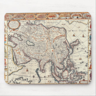 Map of Asia 3 Mouse Mat