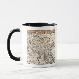 Map of Asia 3 Mug