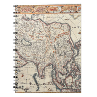 Map of Asia 3 Notebook