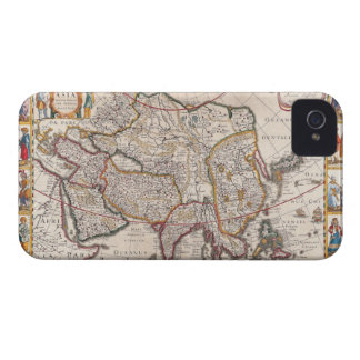 Map of Asia 4 iPhone 4 Cover