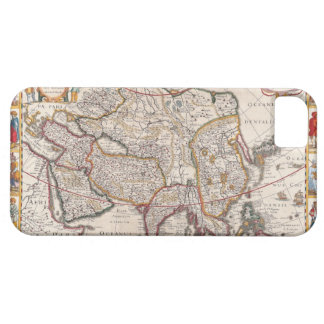 Map of Asia 4 iPhone 5 Cover