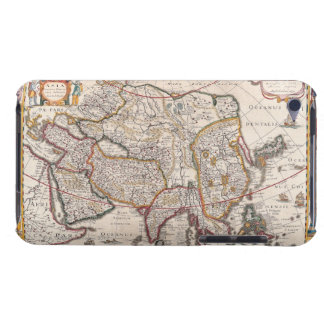 Map of Asia 4 iPod Case-Mate Case