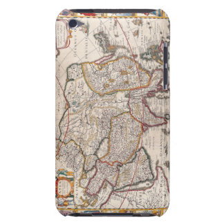 Map of Asia 4 iPod Touch Case