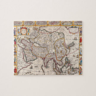 Map of Asia 4 Jigsaw Puzzle