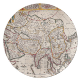 Map of Asia 4 Plate