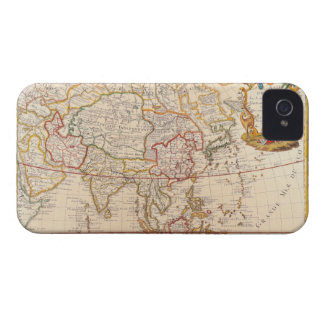 Map of Asia 5 Case-Mate iPhone 4 Case