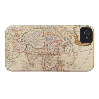 Map of Asia 5 iPhone 4 Cover
